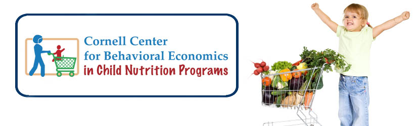 Cornell Center for Behavior Economics for Child Nutrition Programs logo