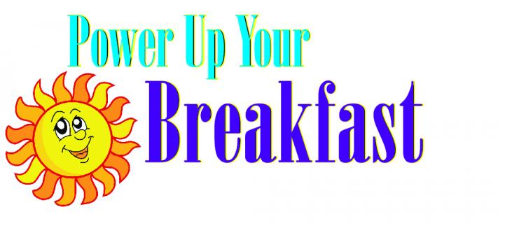 power up for breakfast logo