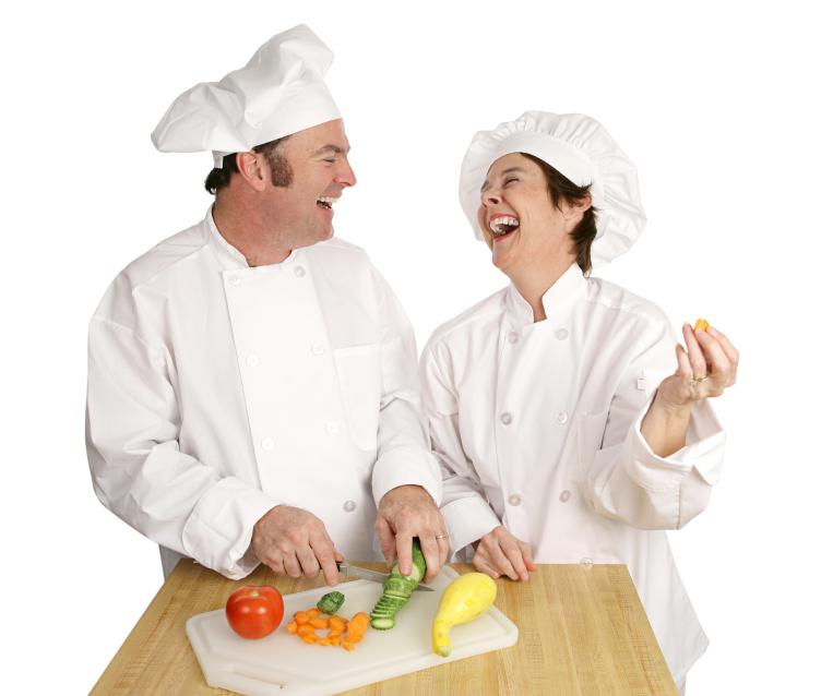 laughing chefs